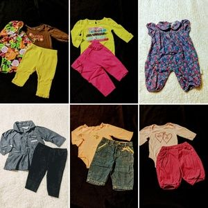 Girls 0/3 months Winter Clothing